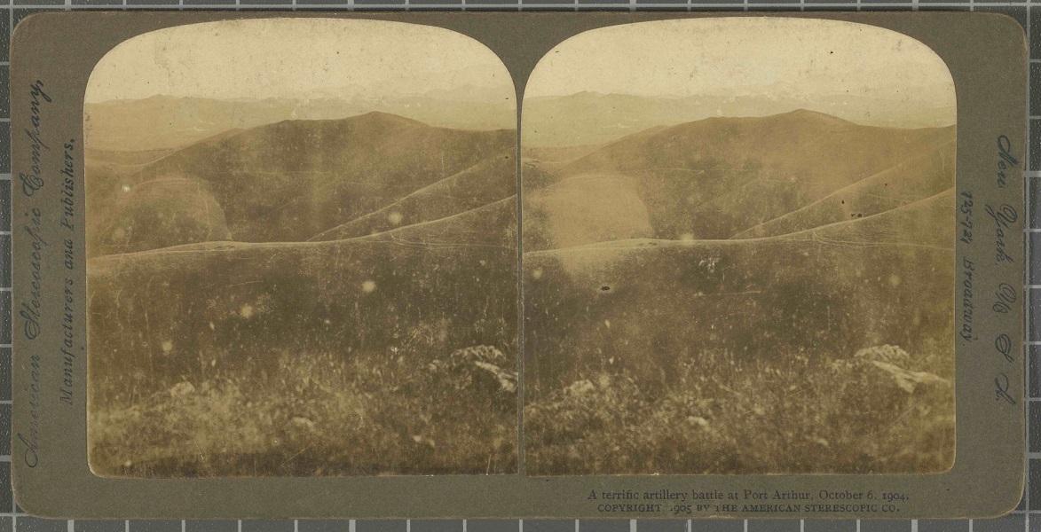 A terrific artillery battle at Port Arthur, 06/10/1904. Ajuntament de Girona / Cinema Museum