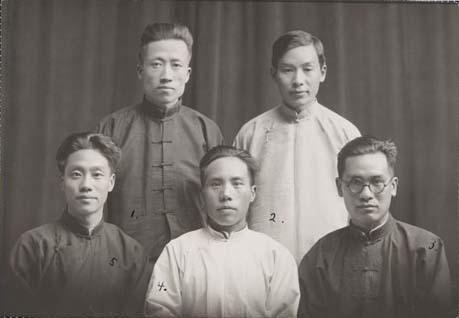 Kiinan luterilaisen kirkon kirjallisuuskomitean jäseniä.Museovirasto - Finnish Heritage Agency
